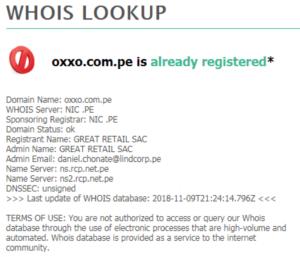 Batalla por los dominios entre Tambo+ vs Oxxo 1